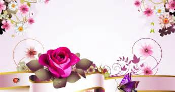 rosas para escribir banco de im 225 genes postal con flores y mariposas para