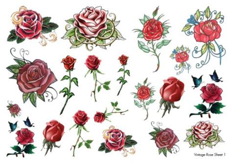 rockabilly rose tattoo winehouse temporary tattoos temporary tattoos