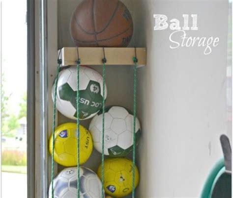 Garage Storage Ideas For Balls 9 Clever Sports Equipment Storage Solutions
