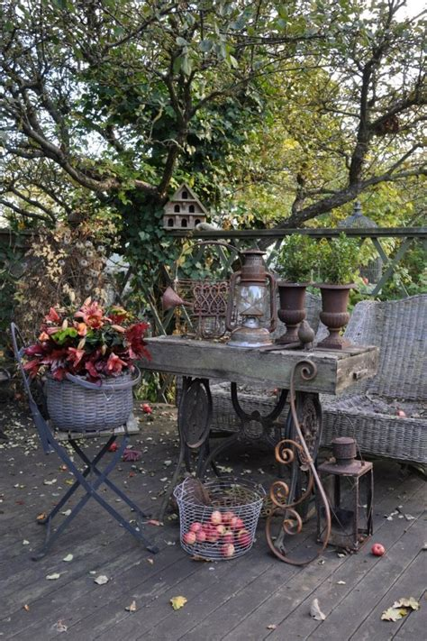 Rustic Backyard by 57 Cozy Rustic Patio Designs Digsdigs