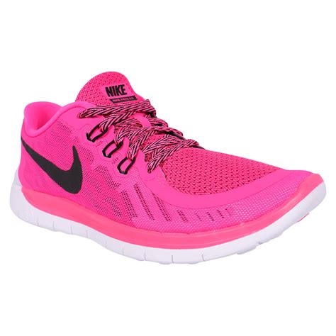 pink nike shoes nike free 5 0 youth shoes pink pow black