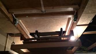 rangement plafond escamotable