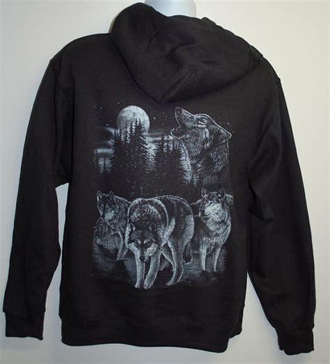 Hoodie Wolf wolf pack hoodie wolves blue moon moon by passtheword