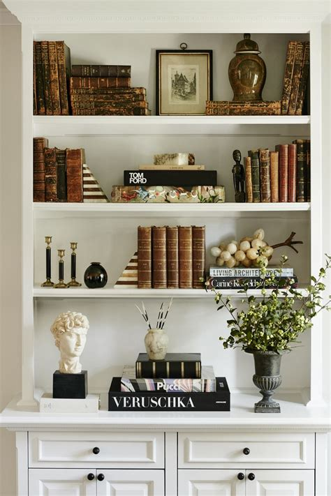 decorate bookshelf home decor shelf styling cheetah is the new black