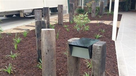 Railway Sleeper Furniture Australia by 88 Best Letterboxes Images On