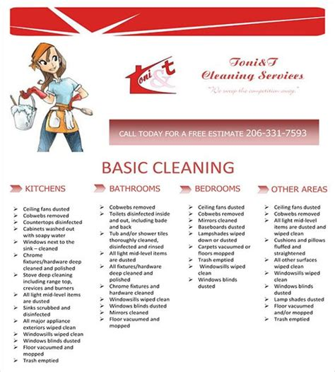 format absensi cleaning service cleaning service flyer template house cleaning flyer