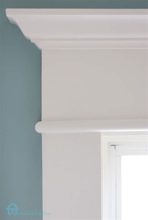 How To Install Ceiling Moulding by Adding Trim Around Interior Windows Images Studio