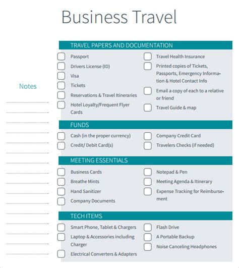 business travel template business travel itinerary template 7 free