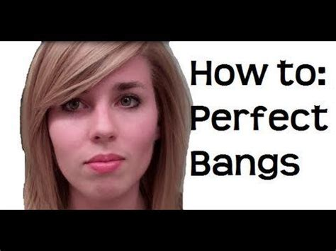 tutorial on cutting bangs 75 best hair styles for thin straight hair images on