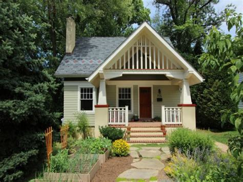 Tiny Small Craftsman Bungalow Craftsman Bungalow Cottage | ideas for ranch style homes front porch small craftsman