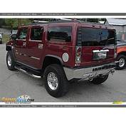 2003 Hummer H2 SUV Red Metallic / Wheat Photo 3