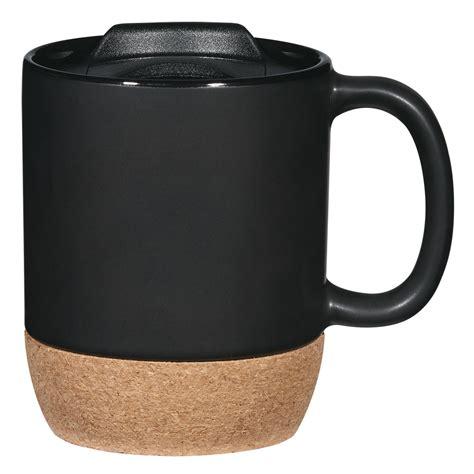 Cork mug,Bulk Custom Printed 14oz Cork Base Ceramic Mug