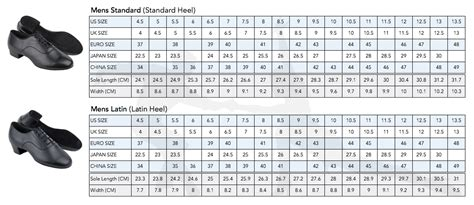 shoes size chart uk shoe sizing heel