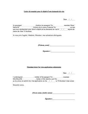 Lettre Type Pour Une Demande De Visa lettre de motivation pour une demande de visa etudiant