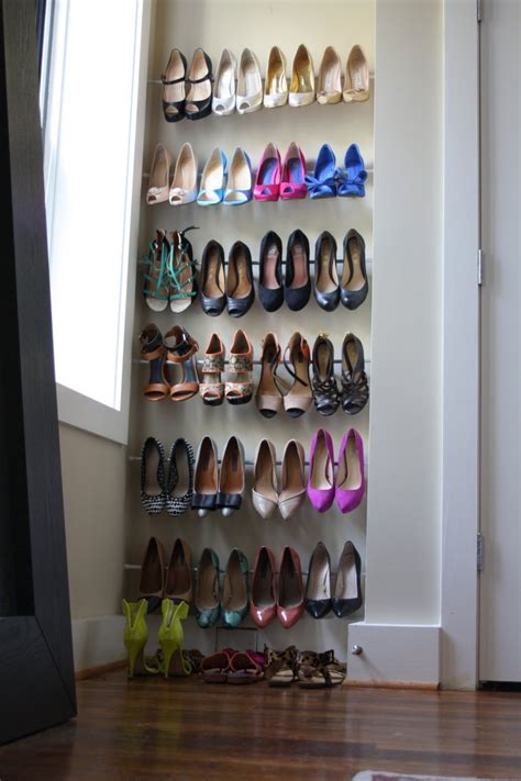 diy shoe shelves 15 clever diy shoe storage ideas grillo designs