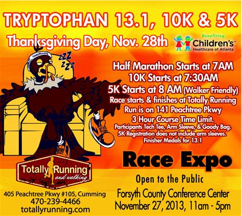 To 5k Day 1 by Totally Running Thanksgiving Day 5k In Ga