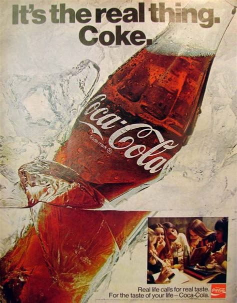 Coke Is The Real Thing For Andy by It S The Real Thing Coke 3 1970