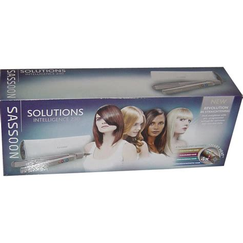 Vidal Sassoon Tourmaline Professional Ceramic Stra 3 by Vidal Sassoon Vsst2960 Intelligent Setting Hair