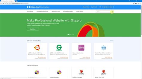 alibaba domain alibaba site pro builder installation and parking your