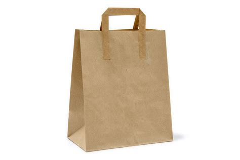 A Paper Bag - brown paper bag large enviropack
