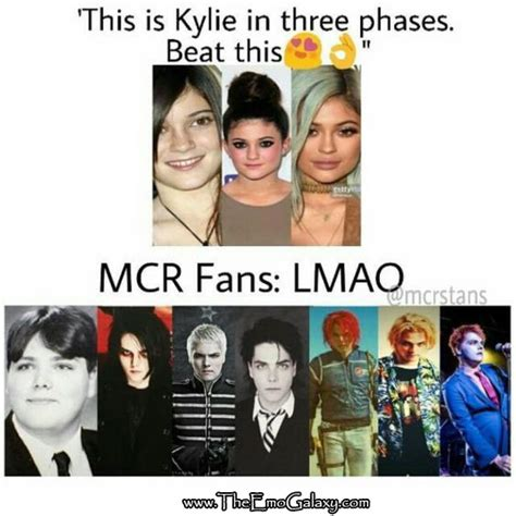 Emo Band Memes - hahaha gerard it s so true though and he didn t have to go through surgery to become that