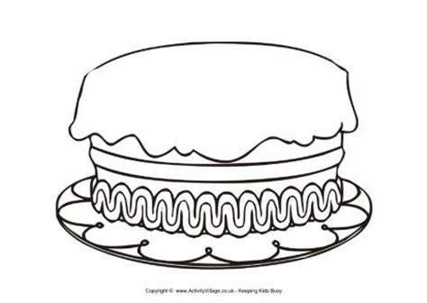 birthday cake coloring page printable get this printable birthday cake coloring pages online 85256