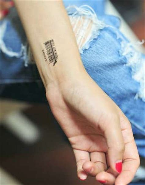 the barcode tattoo publisher scannable obsession barcodes and qr codes permeate