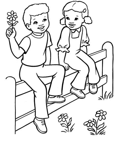 coloring page of boy and girl 11 desenhos para colorir no dia dos namorados colorir
