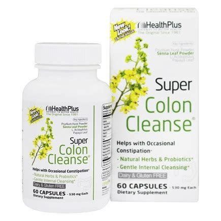 Nhp Detox Support by Buy Health Plus Colon Cleanse 500 Mg 60