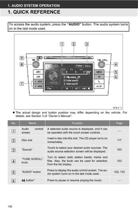 download car manuals 2007 toyota corolla parking system 2012 toyota prius toyota universal display audio system owner s manual with navigation audio