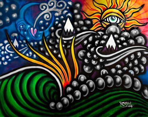 Clouds Wall Mural jackson mural asymbol