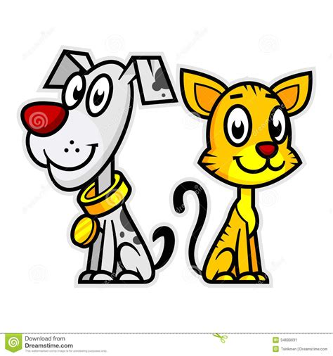 cat and puppy cat clipart 36