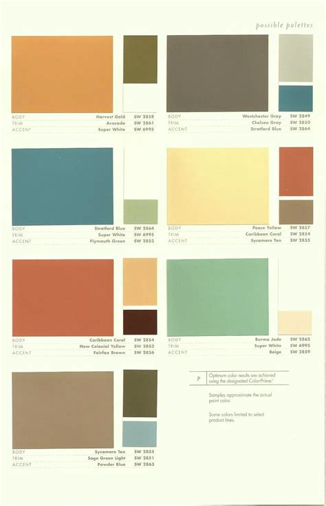1940s exterior house colors allow us to a color inspiration ideas for the