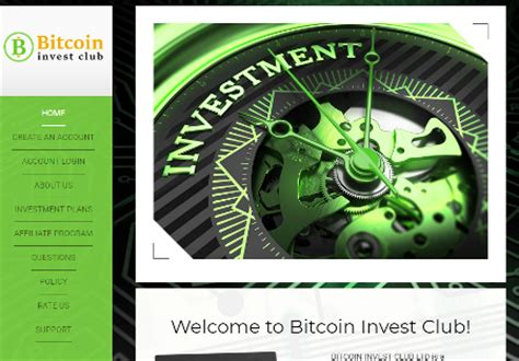 bitcoin invest club bitcoin invest club review scam with no payout records