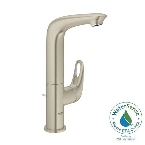 grohe concetto 4 in centerset single handle bathroom faucet in starlight chrome 34270001 the grohe concetto single hole single handle bathroom faucet