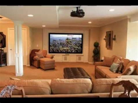pictures of family rooms for decorating ideas diy basement family room decorating ideas youtube