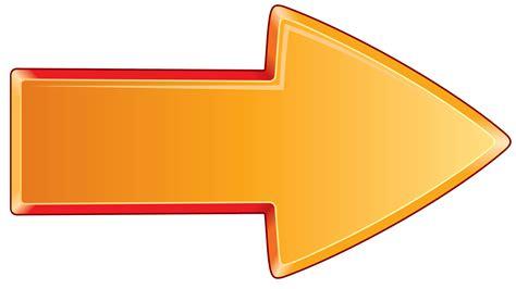 arrow images arrow bold orange right transparent png stickpng