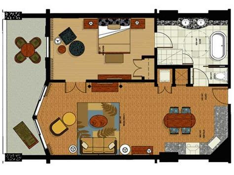 parc soleil floor plans one bedroom floor plan for parc soleil hotel by hilton