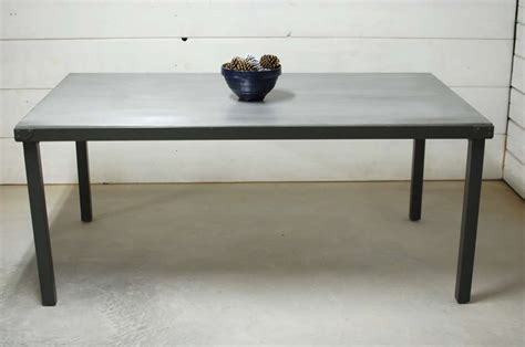 zinc top indoor outdoor dining table southern