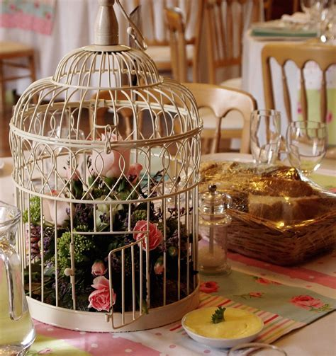 Bird cage table decoration   Jaybird Flowers