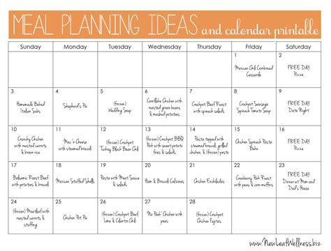 free printable diet meal planner meal plan for two weeks and only grocery shop once new