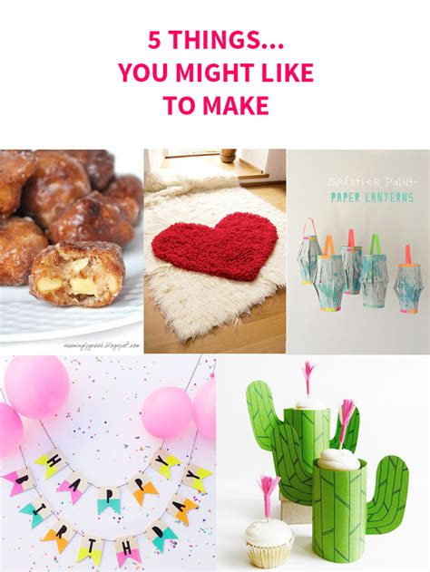5 Things You Might Be Wondering About by 5 Things You Might Like To Make Style For A Happy Home