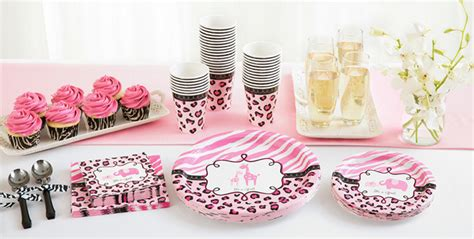 Pink Safari Baby Shower Ideas by Pink Safari Baby Shower Supplies City