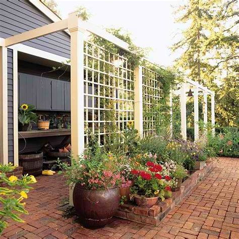 Diy Outdoor Privacy Screen Ideas Outdoor Garden Privacy Screen Ideas For Backyard Privacy