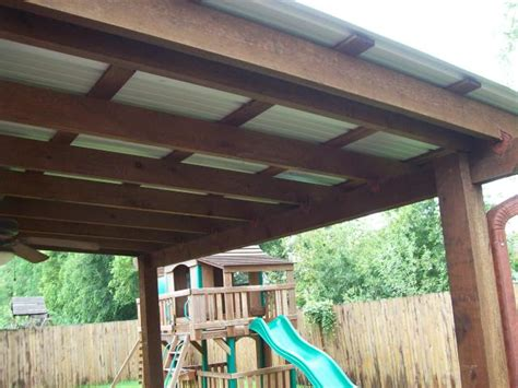 How To Build A Patio Cover Roof by Metal Roof Patio Cover Designs 3542