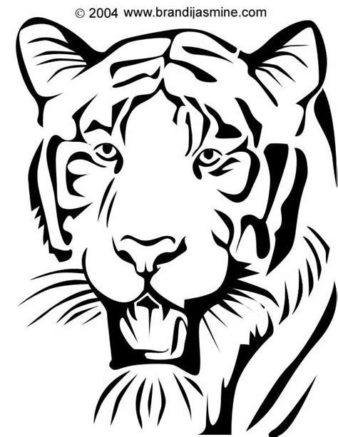 tiger template printable pumpkin stencils pumpkin carving patterns