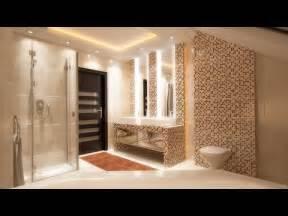bathroom interior design styling  modern led ceiling