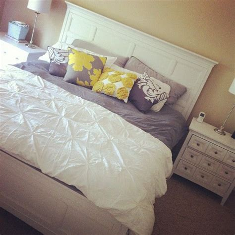 target yellow comforter photo by littlemissmomma instagram love this gray and