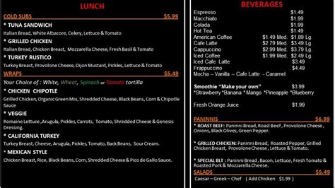genesis shoo menu for genesis coffee shop 515 e las olas 110