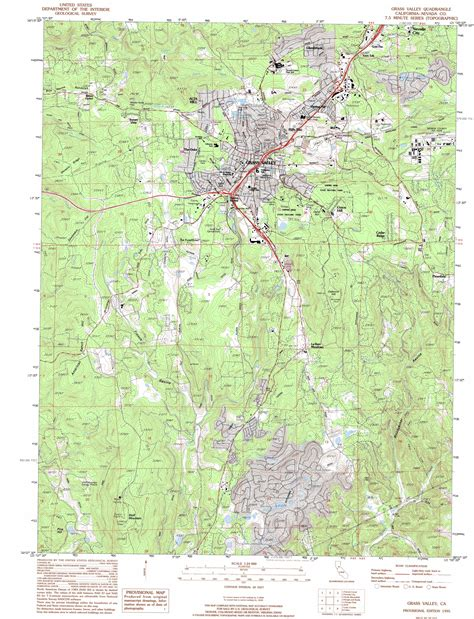map of grass valley california grass valley topographic map ca usgs topo 39121b1